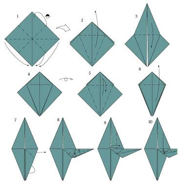 how to make an origami rocket