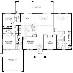Floor Plan Of House by Oak Home Floor Plan For New Home Construction In Jupiter