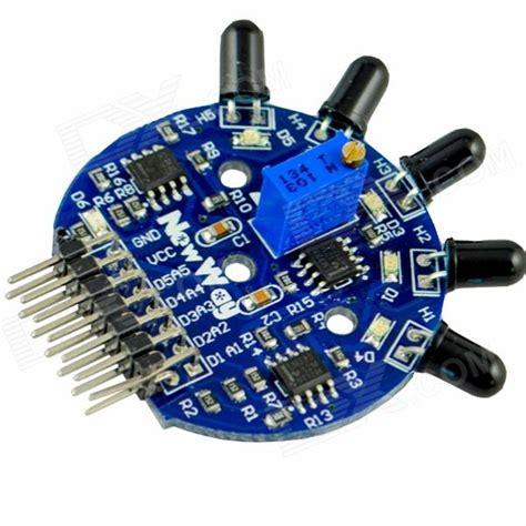 5 Way Sensor 5 Channel Sensor Arduino Fighte Berkualitas 5 channel sensor module blue free shipping