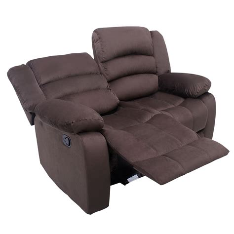 2 seater recliner lounge manual recliner 2 seat sofa chair slipcover ergonomic