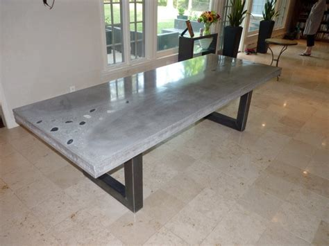 concrete table modern dining tables other by jm