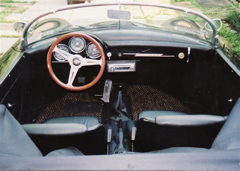 porsche speedster interior 1956 porsche 356 speedster re creation 60905