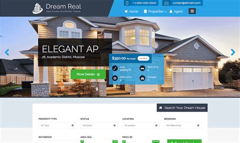 Teslathemes Realtor Real Estate Theme best real estate themes in 2016 wp daily themes