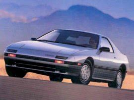1987 mazda rx7 parts japanese car spotters guide 1987