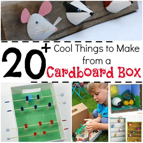 How To Make A Cool Thing Out Of Paper - 20 cool things to make from a cardboard box crafts on sea