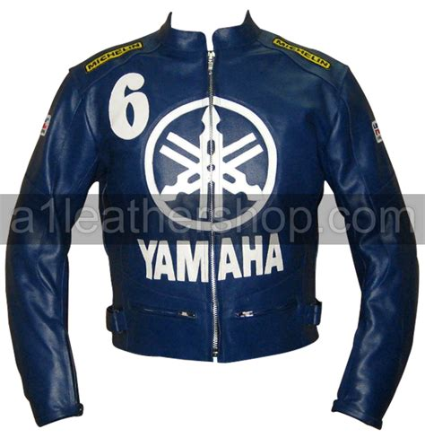 blue motorbike jacket yamaha motorcycle leather jackets yamaha r r1 r6