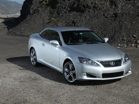 2010 Lexus Is Convertible Car Image 10 Of 36