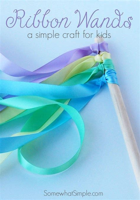 easy to do crafts ribbon wands ribbon wands wand and easy diy crafts