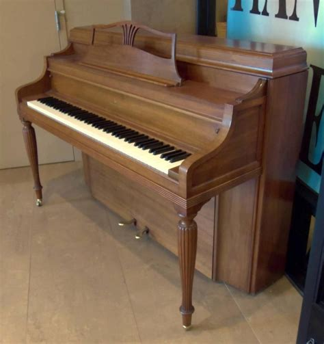 Handmade Pianos - steinway sons console piano model 100 1956 made