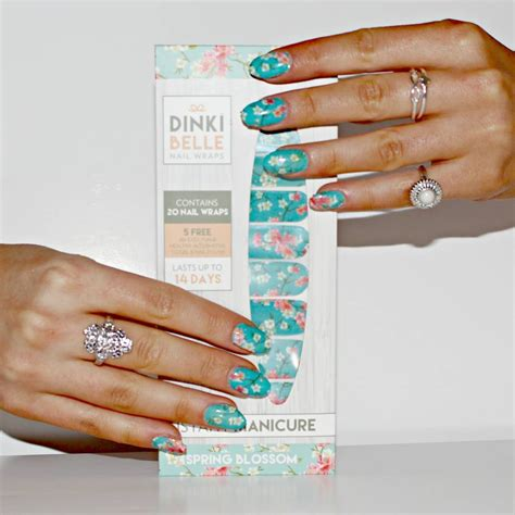 Nail Wraps by Blossom Designer Nail Wraps By Dinkibelle