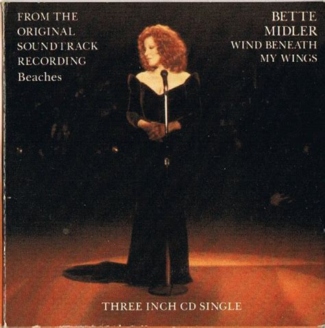 bette midler wind beneath my wings bette midler the wind beneath my wings cd at discogs