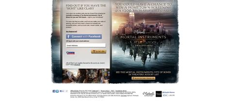 Sweepstakes Eligibility - the mortal instruments sweepstakes