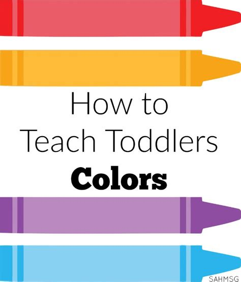learning colors for toddlers how to teach toddlers colors the stay at home