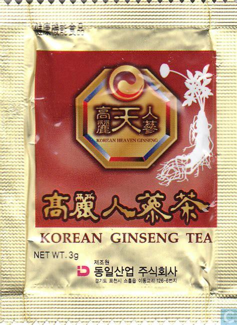 Teh Ginseng Korea korean ginseng tea korean heaven ginseng catawiki