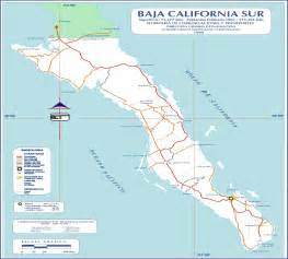Map Of Baja California Mexico by Baja California Map Baja California Mappery