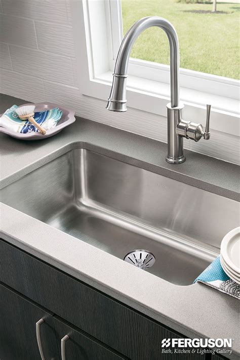edge guard for undermount sinks crumbs and gunk will head straight to the drain of this
