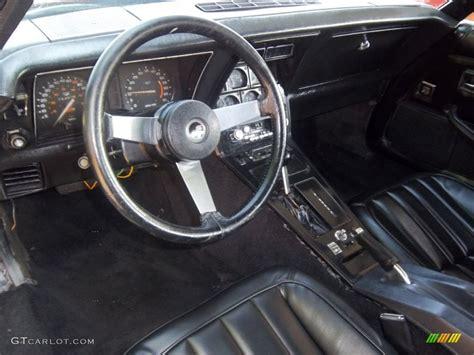 1979 Corvette Interior by Black Interior 1979 Chevrolet Corvette Coupe Photo