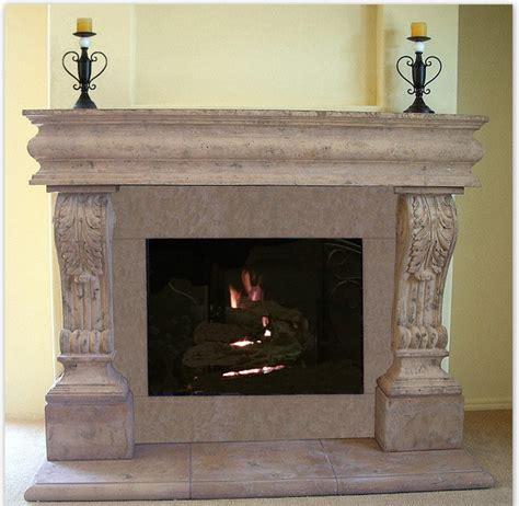 Fireplace Mantels Houzz by Acanthus Cast Fireplace Mantel Mediterranean