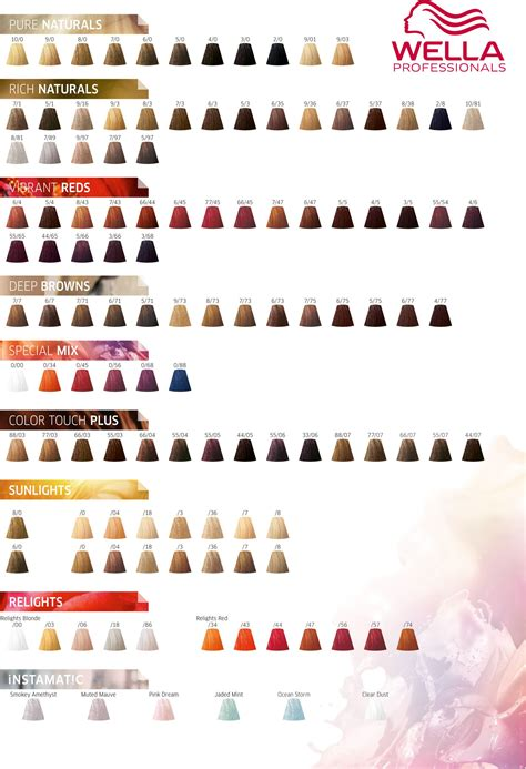wella koleston color chart wella professionals color touch color chart 2017 new