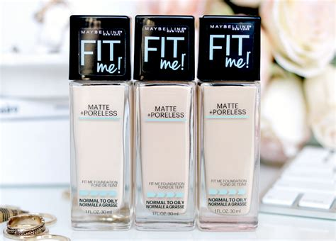 Maybelline Fit Me Matte And Poreless maybelline fit me matte poreless foundation review