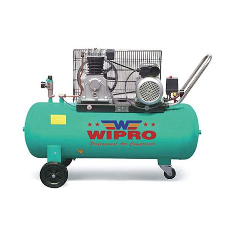 Kompresor Wipro single stage air cool movable air compressor wipro