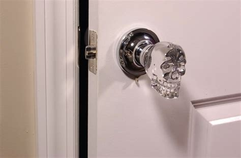 Skull Door Knob by Skull Door Knobs Creepy Or The Best Thing Offbeat