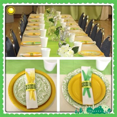 Yellow Green Baby Shower by 1000 Images About Neutral Baby Shower Green Yellow