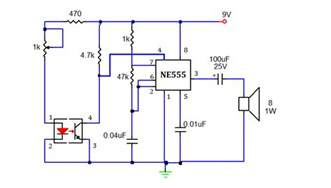 smoke detector using 555 timer my circuits 9