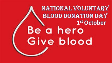 bloody day national voluntary blood donation day 2015