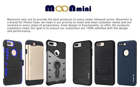 q card iphone 7 plus iphone 7 plus moonmini shockproof slim fit dual layer protection card slot
