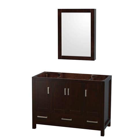 wyndham collection sheffield 80 in vanity cabinet