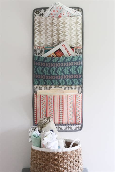 pattern for fabric wall organizer diy fabric wall organizer spoonflower blog