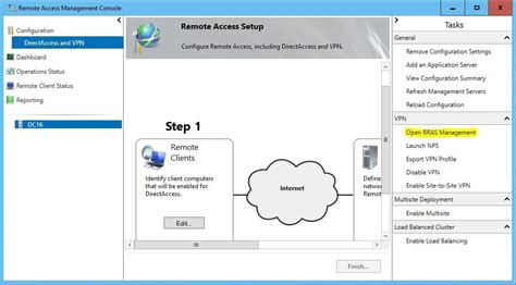 configure xp remote access how to configure directaccess vpn on server 2016 technig