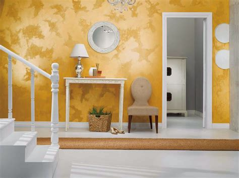 Best Colour Combination For Home Interior by Asian Paints Royale Play Stucco Patch