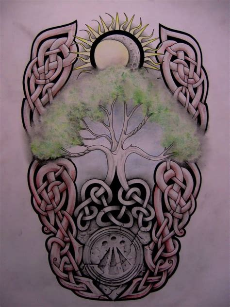 celtic tree of life tattoo design 55 fascinating and tree of tattoos golfian