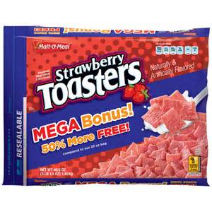 Malt O Meal Cinnamon Toasters Malt O Meal Strawberry Toasters Cereal 49 5 Oz Breakfast