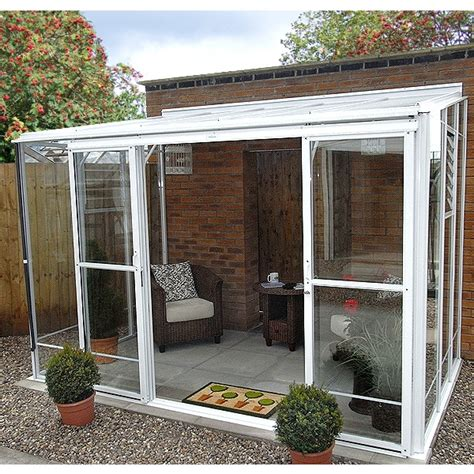 Robinsons radstock lean to greenhouse