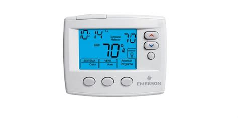 E M O R Y Emerson Series 0667 03emo1583 1f85st 0422 white rodgers emerson 80 series blue 4 inch programmable thermostat multi stage 2h