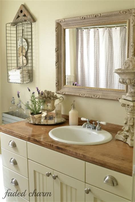 pictures of country style bathrooms bathroom country wire baskets
