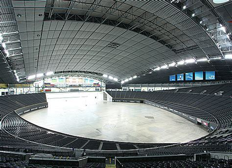 """""""Hovering Soccer Field""""   Dome Overview   Sapporo Dome"""