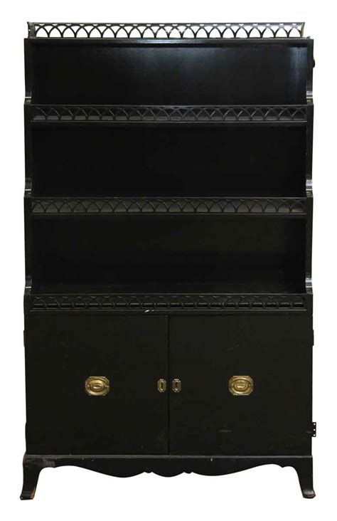 black wood cabinet with doors black wood cabinet with two bottom doors olde things