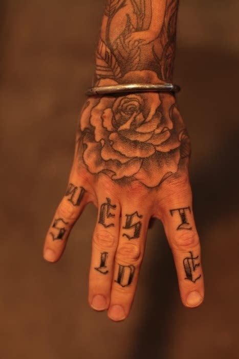 dope hand tattoos dope image 316858 on favim