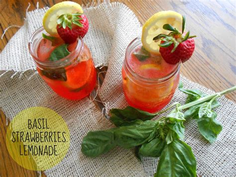 Strawberry Ct C strawberry basil lemonade spritzer flora foodie