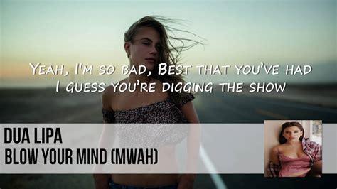 dua lipa blow your mind mp3 download free dua lipa blow your mind lyrics official audio chords