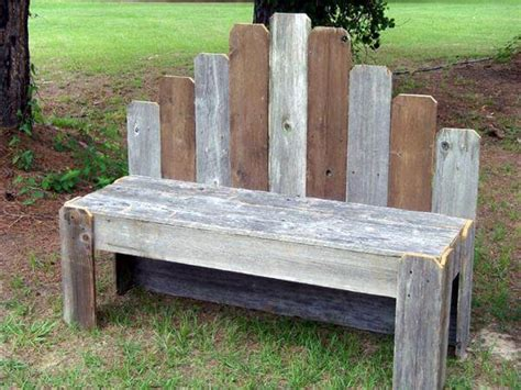 covered bench rustic pallet covered bench plan pallet furniture diy