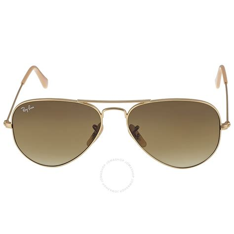 Sunglasses Rb3025 Original Aviator ban original aviator matte gold brown gradient