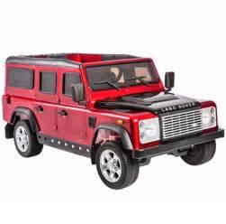 Jeep Defender Land Rover Defender 12v Licensed Electric Ride On Jeep