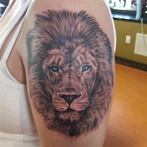 25 best ideas about lion tattoo design on pinterest