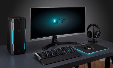 Gaming Desk Top Corsair One Pro Compact Gaming Pc Review 187 The Gadget Flow