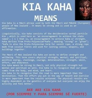 Forever Strong Kia Kaha by Forever Strong Quotes Quotesgram